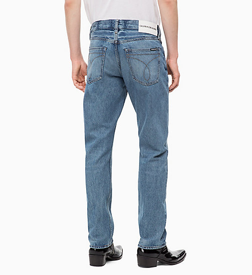 CALVIN KLEIN JEANS CKJ 035 Straight Jeans - BROOM BLUE -  CLOTHES - detail image 1