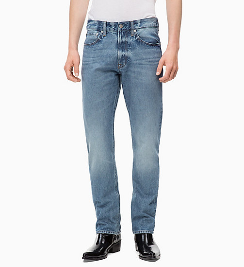 CALVIN KLEIN JEANS CKJ 035 Straight Jeans - BROOM BLUE -  CLOTHES - main image