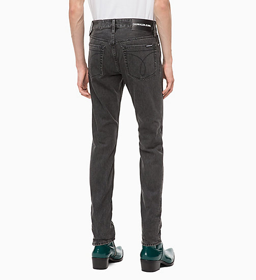 CALVIN KLEIN JEANS CKJ 026 Slim Jeans - BONDI BLACK - CALVIN KLEIN JEANS The New Off-Duty - dettaglio immagine 1