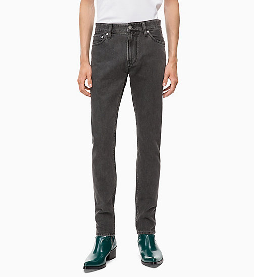 CALVIN KLEIN JEANS CKJ 026 Slim Jeans - BONDI BLACK - CALVIN KLEIN JEANS The New Off-Duty - главное изображение