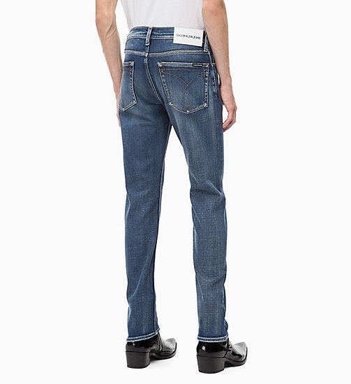 CALVIN KLEIN JEANS CKJ 026 Slim Jeans - CAIRNS BLUE (BRUSHED) - CALVIN KLEIN JEANS IN THE THICK OF IT FOR HIM - dettaglio immagine 1