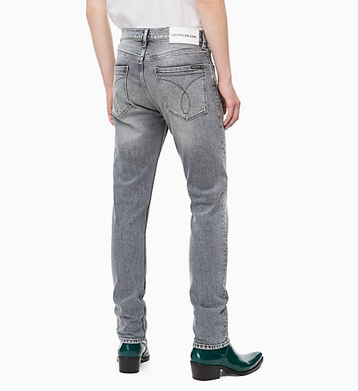 CALVIN KLEIN JEANS CKJ 016 Skinny Jeans - KUNANYI GREY - CALVIN KLEIN JEANS BOLD GRAPHICS - detail image 1