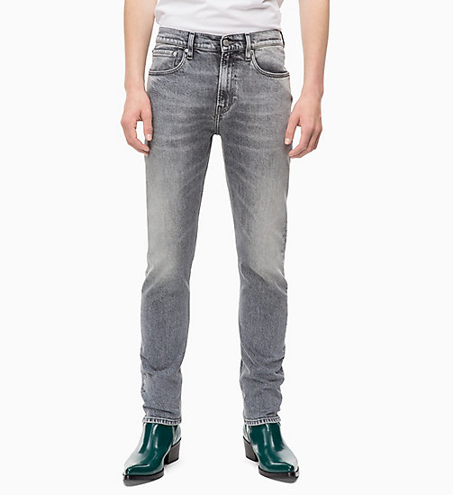 CALVIN KLEIN JEANS CKJ 016 Skinny Jeans - KUNANYI GREY - CALVIN KLEIN JEANS BOLD GRAPHICS - main image