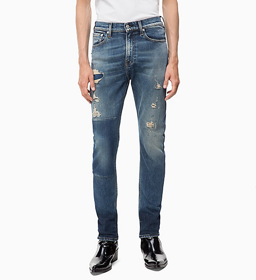 CALVIN KLEIN JEANS CKJ 016 Skinny Jeans - ROSE BOWL BLUE - CALVIN KLEIN JEANS CLOTHES - main image