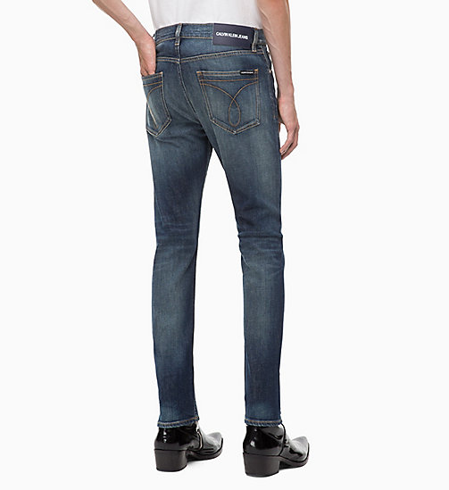 CALVIN KLEIN JEANS CKJ 016 Skinny Jeans - SAVAGE BLUE - CALVIN KLEIN JEANS BOLD GRAPHICS - main image 1