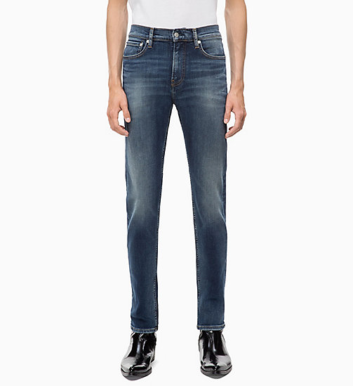 CALVIN KLEIN JEANS CKJ 026 Slim Jeans - MICKEY BLUE (INF STR) - CALVIN KLEIN JEANS CLOTHES - main image