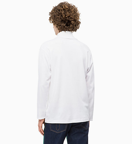 CALVIN KLEIN JEANS Rollkragen-Sweater - BRIGHT WHITE - CALVIN KLEIN JEANS NEW IN - main image 1