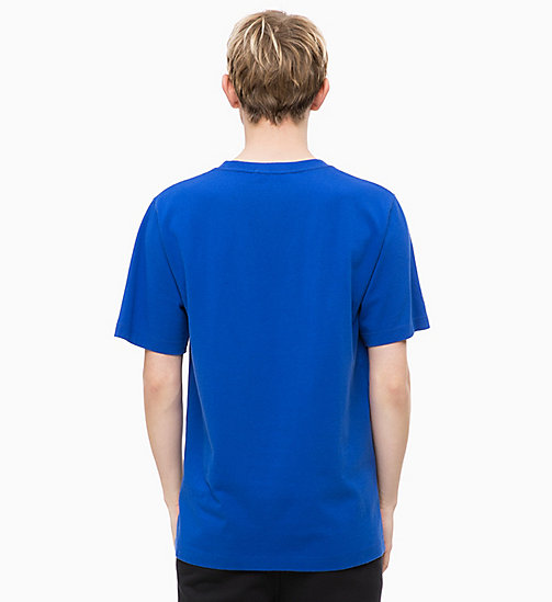 CALVIN KLEIN JEANS Organic Cotton Logo T-shirt - SURF THE WEB - CALVIN KLEIN JEANS NEW IN - detail image 1