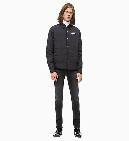 CALVIN KLEIN JEANS Lightweight Padded Shirt Jacket - CK BLACK - CALVIN KLEIN JEANS The New Off-Duty - detail image 1
