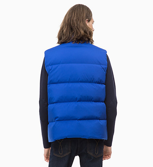CALVIN KLEIN JEANS Quilted Down Gilet - SURF THE WEB - CALVIN KLEIN JEANS IN THE THICK OF IT FOR HIM - detail image 1