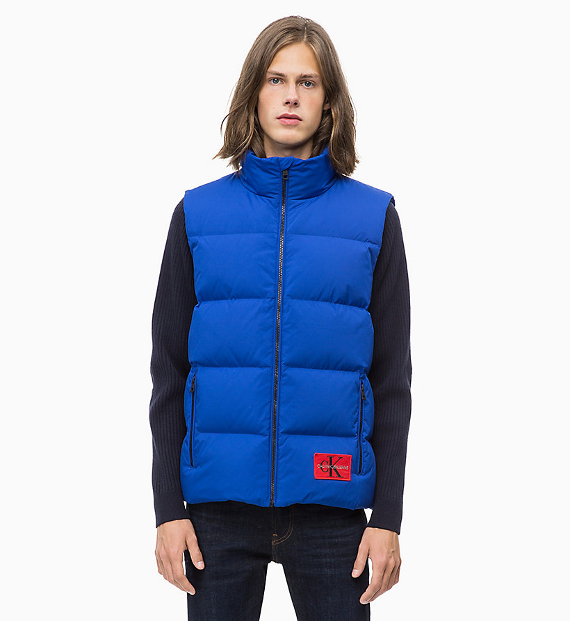 CALVIN KLEIN JEANS Quilted Down Gilet - CK BLACK - CALVIN KLEIN JEANS MEN - main image