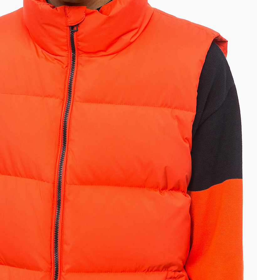 CALVIN KLEIN JEANS Quilted Down Gilet - SURF THE WEB - CALVIN KLEIN JEANS MEN - detail image 2