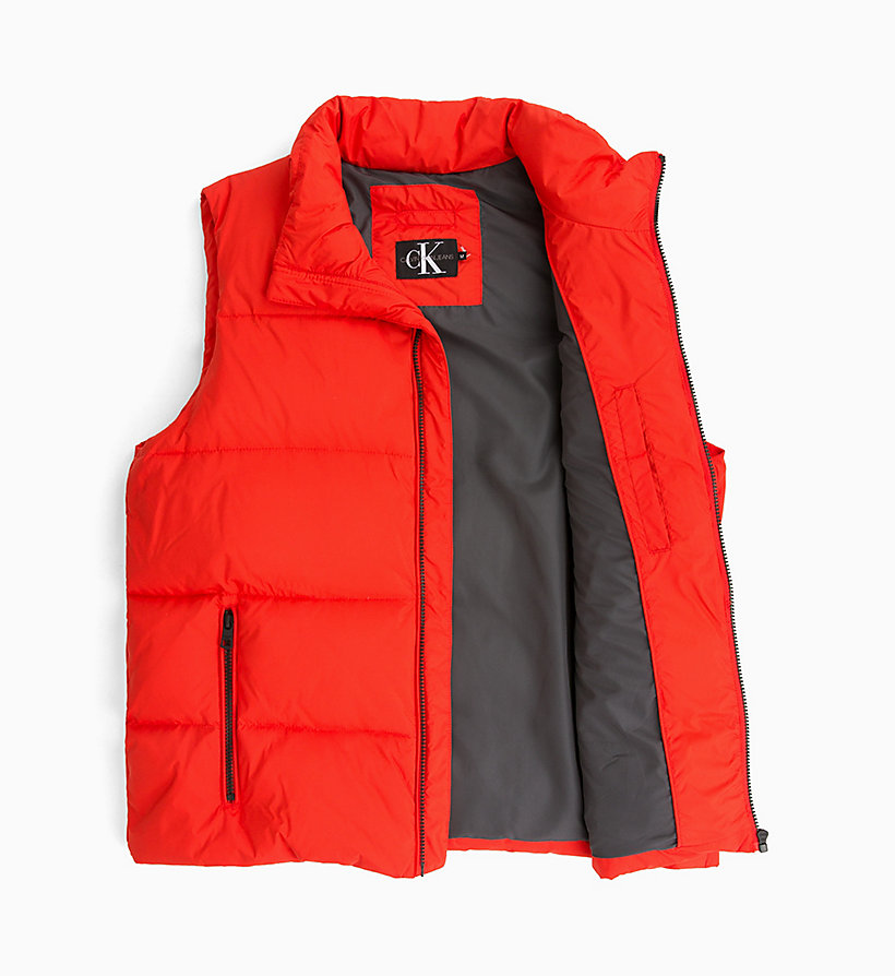 CALVIN KLEIN JEANS Quilted Down Gilet - SURF THE WEB - CALVIN KLEIN JEANS MEN - detail image 4