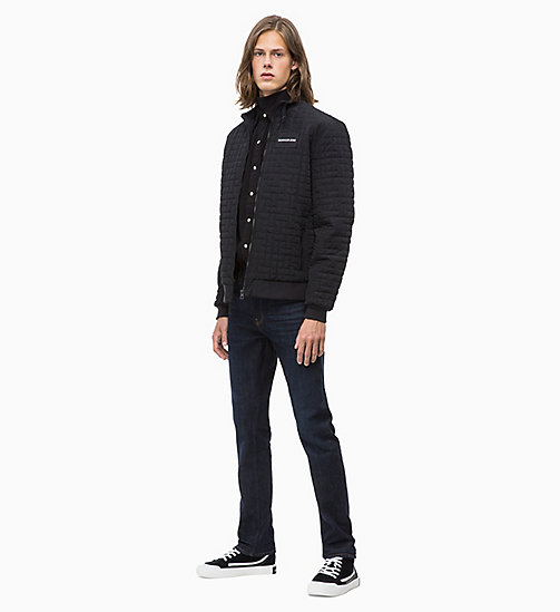 CALVIN KLEIN JEANS Lightweight Quilted Jacket - CK BLACK - CALVIN KLEIN JEANS CLOTHES - detail image 1
