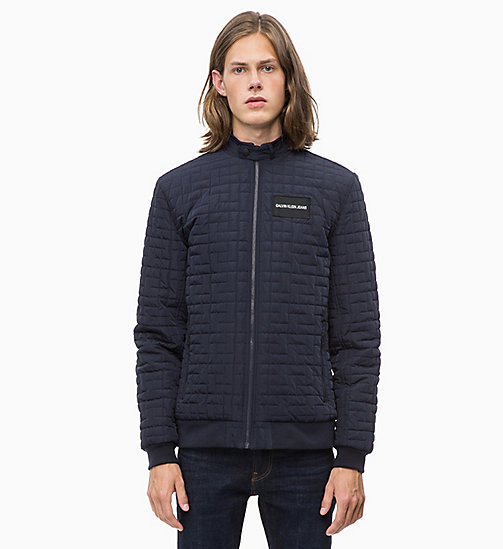 CALVIN KLEIN JEANS Lightweight Quilted Jacket - NIGHT SKY - CALVIN KLEIN JEANS The New Off-Duty - main image