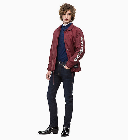 CALVIN KLEIN JEANS Coach Logo-Jacke - TAWNY PORT - CALVIN KLEIN JEANS The New Off-Duty - main image 1