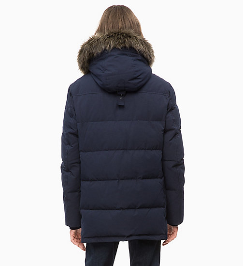 CALVIN KLEIN JEANS Parka in piuma - NIGHT SKY - CALVIN KLEIN JEANS IN THE THICK OF IT FOR HIM - dettaglio immagine 1