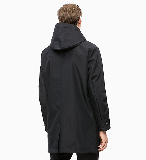 CALVIN KLEIN JEANS Padded Hooded Jacket - CK BLACK - CALVIN KLEIN JEANS The New Off-Duty - detail image 1