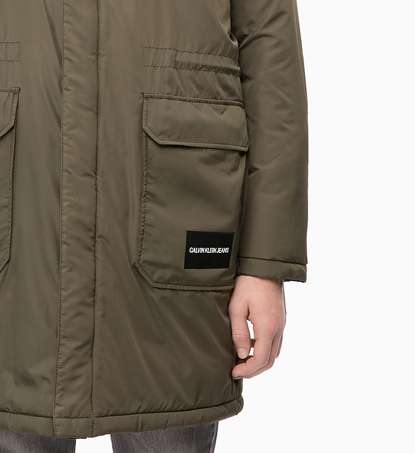 CALVIN KLEIN JEANS Lightweight Padded Parka Jacket - NIGHT SKY - CALVIN KLEIN JEANS MEN - detail image 2