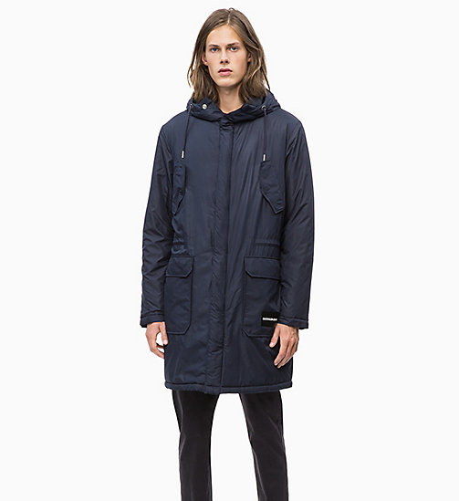 CALVIN KLEIN JEANS Lightweight Padded Parka Jacket - NIGHT SKY - CALVIN KLEIN JEANS CLOTHES - main image