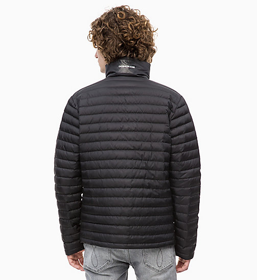 CALVIN KLEIN JEANS Packable Quilted Down Jacket - CK BLACK - CALVIN KLEIN JEANS CLOTHES - detail image 1