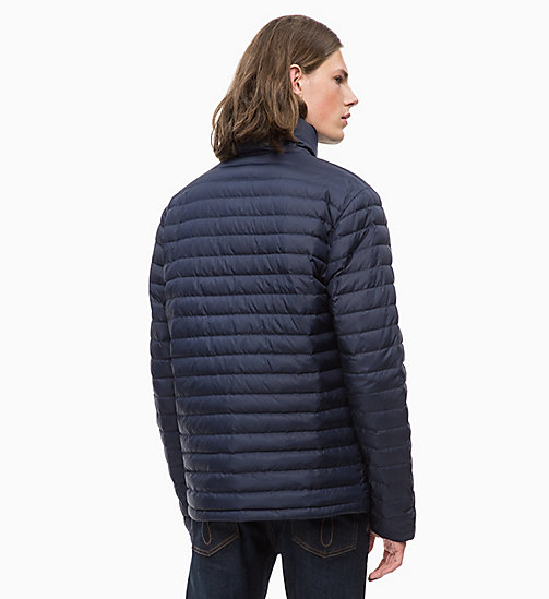 CALVIN KLEIN JEANS Packable Quilted Down Jacket - NIGHT SKY - CALVIN KLEIN JEANS FALL DREAMS - detail image 1