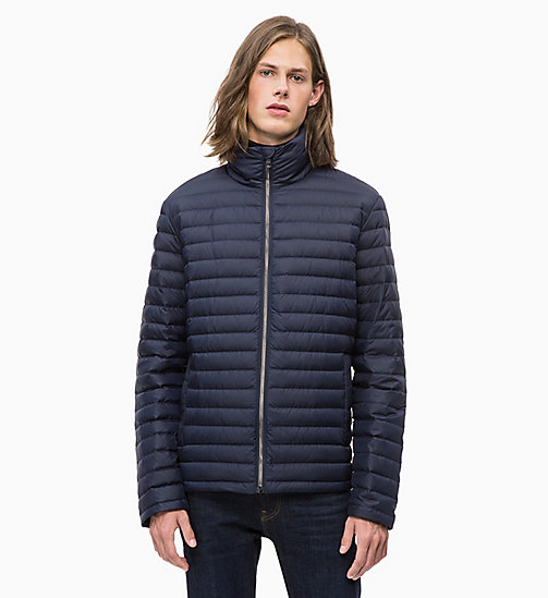 CALVIN KLEIN JEANS Packable Quilted Down Jacket - NIGHT SKY - CALVIN KLEIN JEANS FALL DREAMS - main image