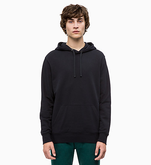 CALVIN KLEIN JEANS Printed Hoodie - CK BLACK - CALVIN KLEIN JEANS The New Off-Duty - main image