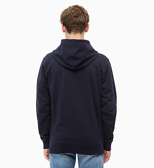 CALVIN KLEIN JEANS Zip-Through Hoodie - NIGHT SKY - CALVIN KLEIN JEANS FALL DREAMS - detail image 1