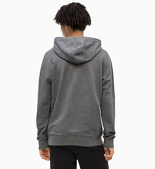 CALVIN KLEIN JEANS Logo Hoodie - GREY HEATHER - CALVIN KLEIN JEANS The New Off-Duty - detail image 1