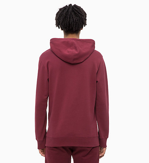 CALVIN KLEIN JEANS Logo Hoodie - TAWNY PORT - CALVIN KLEIN JEANS The New Off-Duty - detail image 1