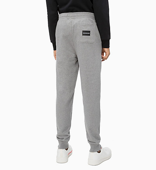 CALVIN KLEIN JEANS Joggers - GREY HEATHER - CALVIN KLEIN JEANS CLOTHES - detail image 1