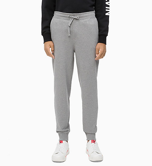 CALVIN KLEIN JEANS Joggers - GREY HEATHER - CALVIN KLEIN JEANS CLOTHES - main image