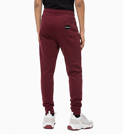 CALVIN KLEIN JEANS Joggers - TAWNY PORT - CALVIN KLEIN JEANS BOLD GRAPHICS - detail image 1