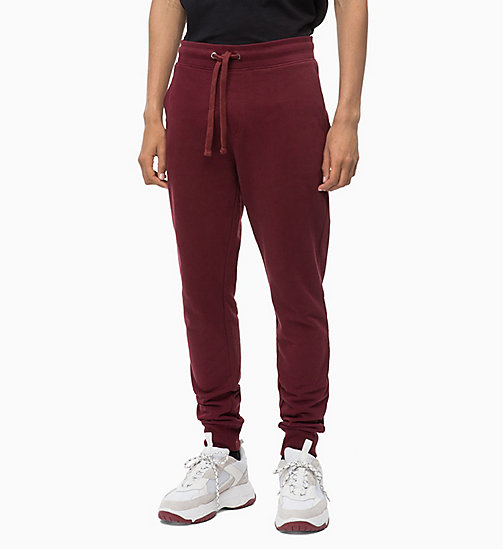 CALVIN KLEIN JEANS Joggers - TAWNY PORT - CALVIN KLEIN JEANS BOLD GRAPHICS - main image