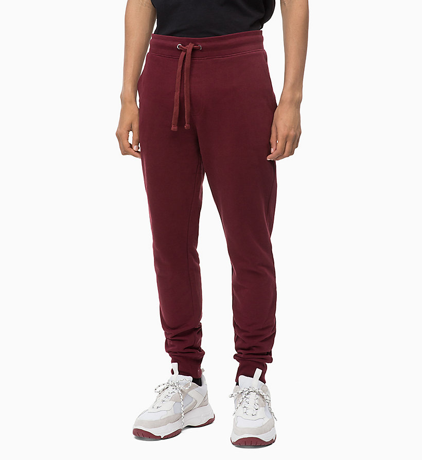 CALVIN KLEIN JEANS Joggers - GREY HEATHER - CALVIN KLEIN JEANS MEN - main image