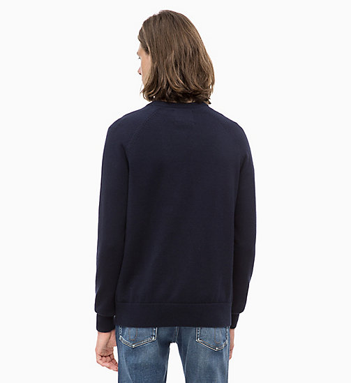 CALVIN KLEIN JEANS Wool Blend Jumper - NIGHT SKY - CALVIN KLEIN JEANS NEW IN - detail image 1