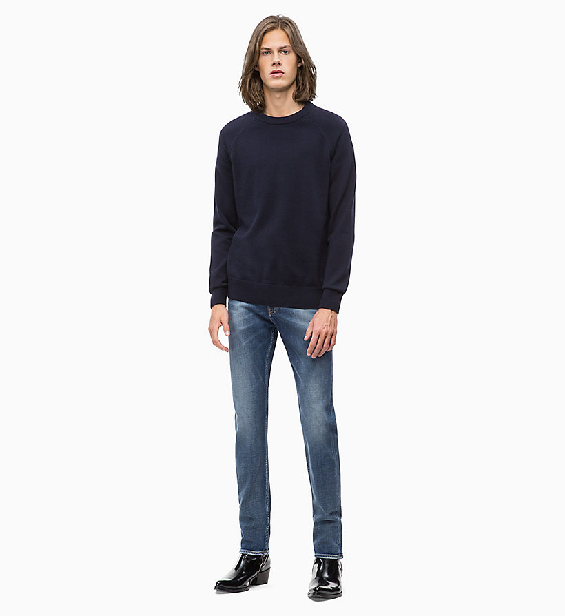 CALVIN KLEIN JEANS Wool Blend Jumper - JUNE BUG - CALVIN KLEIN JEANS MEN - detail image 3
