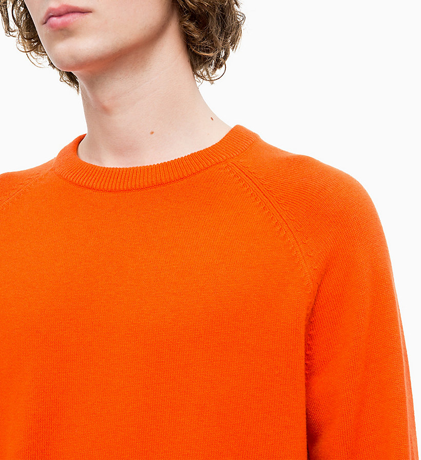 CALVIN KLEIN JEANS Wool Blend Jumper - NIGHT SKY - CALVIN KLEIN JEANS MEN - detail image 3