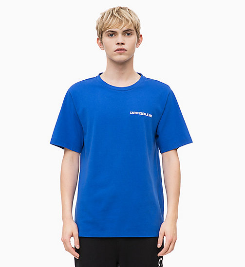 CALVIN KLEIN JEANS Logo T-shirt - SURF THE WEB - CALVIN KLEIN JEANS FALL DREAMS - main image