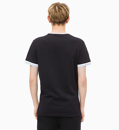 CALVIN KLEIN JEANS Slim Ringer T-shirt - CK BLACK - CALVIN KLEIN JEANS The New Off-Duty - detail image 1