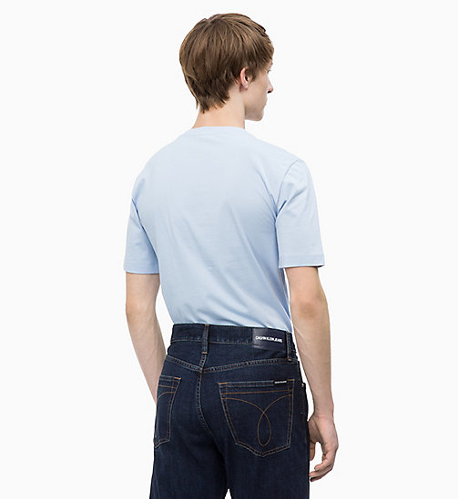 CALVIN KLEIN JEANS Logo-T-Shirt - CHAMBRAY BLUE/TAWNY PORT - CALVIN KLEIN JEANS The New Off-Duty - main image 1