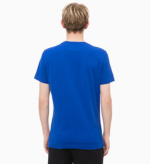 CALVIN KLEIN JEANS Organic Cotton T-shirt - SURF THE WEB/TOMATO - CALVIN KLEIN JEANS NEW IN - detail image 1