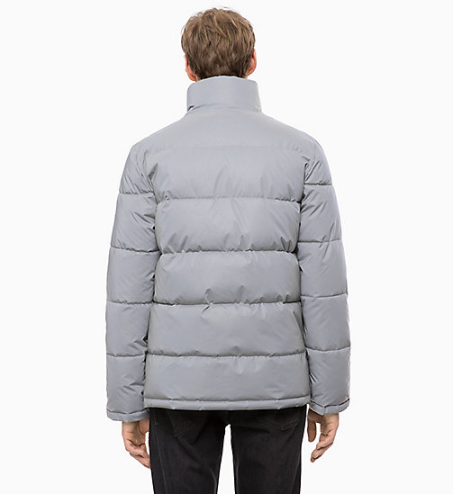 CALVIN KLEIN JEANS Reflective Puffer Jacket - REFLECTIVE - CALVIN KLEIN JEANS IN THE THICK OF IT FOR HIM - detail image 1