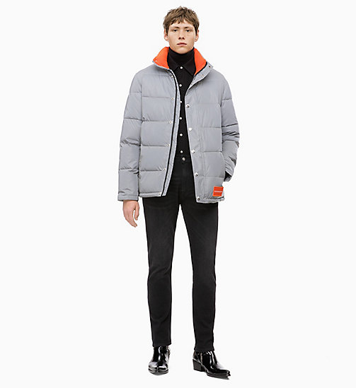 CALVIN KLEIN JEANS Reflektierende Pufferjacke - REFLECTIVE - CALVIN KLEIN JEANS IN THE THICK OF IT FOR HIM - main image 1