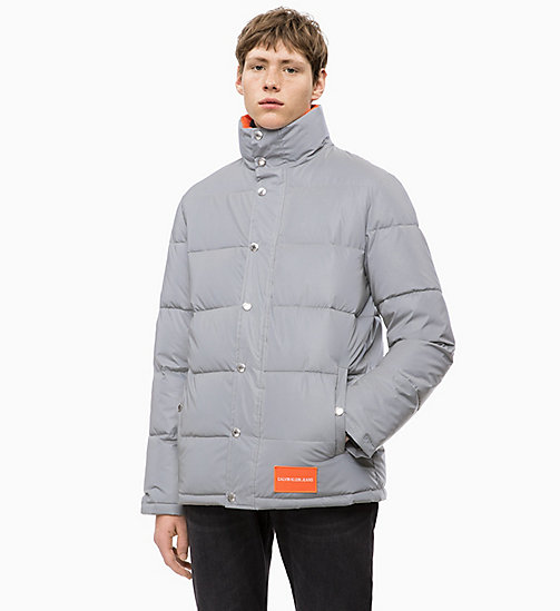 CALVIN KLEIN JEANS Reflective Puffer Jacket - REFLECTIVE - CALVIN KLEIN JEANS IN THE THICK OF IT FOR HIM - main image