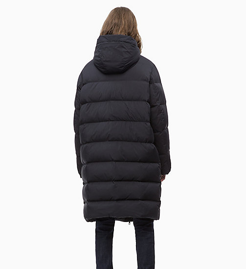 CALVIN KLEIN JEANS Quilted Down Long Parka Jacket - CK BLACK - CALVIN KLEIN JEANS IN THE THICK OF IT FOR HIM - detail image 1