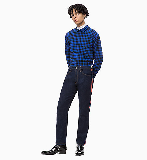 CALVIN KLEIN JEANS Gingham Check Shirt - SURF THE WEB - CALVIN KLEIN JEANS FALL DREAMS - detail image 1