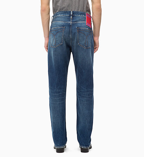 CALVIN KLEIN JEANS CKJ 036 Relaxed Jeans - MOUNTY BLUE - CALVIN KLEIN JEANS THE DENIM INDEX - image détaillée 1