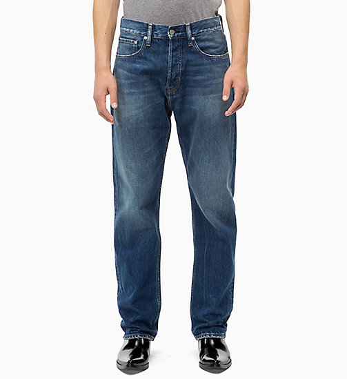CALVIN KLEIN JEANS CKJ 036 Relaxed Jeans - MOUNTY BLUE - CALVIN KLEIN JEANS THE DENIM INDEX - image principale